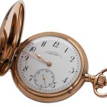 A. Lange & Söhne Uhr gebraucht 1905 Roségold 49mm Arabisch Handaufzug Uhr mit Original-Box und Original-Papieren
