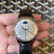 Jaeger-LeCoultre Master Ultra Thin Perpetual Stahl Silber