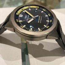 IWC Aquatimer Automatic 2000 Титан 42mm Черный Без цифр
