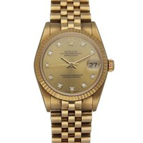 Rolex Lady-Datejust Yellow gold 31mm Champagne United States of America, New York, New York