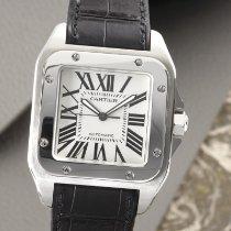 Cartier Santos 100 Zeljezo 38mm Bjel