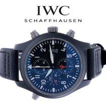 IWC Pilot Chronograph Top Gun Ceramic 46mm Black Arabic numerals