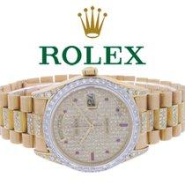 Rolex Day-Date 36 36mm Gold No numerals