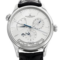 Jaeger-LeCoultre Master Geographic Stahl 29mm Silber Keine Ziffern