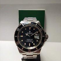 Rolex Submariner Date Acciaio 40mm Nero Senza numeri Italia, Siena