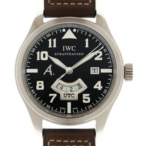IWC Pilot White gold 44mm Brown Arabic numerals