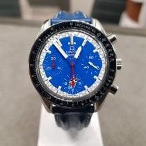 Omega Speedmaster Racing Сталь 39mm Синий Без цифр