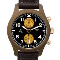 IWC Pilot Chronograph Ceramic 46mm Brown