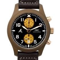 IWC Pilot Chronograph novo Automático Cronógrafo Relógio com caixa e documentos originais IW388006