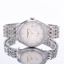 Baume & Mercier Clifton Steel 41mm Silver Arabic numerals