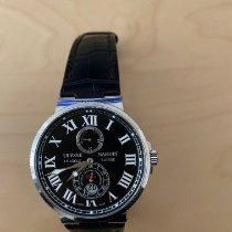 Ulysse Nardin Marine Chronometer 43mm Stahl 43mm Schwarz Römisch Schweiz, Küssnacht am Rigi