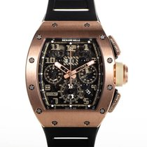 Richard Mille RM 011 Rose gold 50mm Transparent Arabic numerals United States of America, New York, New York