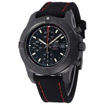 Breitling Colt Chronograph Automatic Steel 44mm Black No numerals United States of America, New York, Greenvale