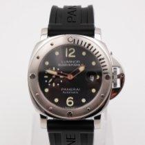 Panerai Luminor Submersible pre-owned 44mm Black Date Rubber