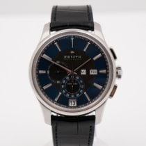 Zenith El Primero Winsor Annual Calendar Stahl 42mm Blau