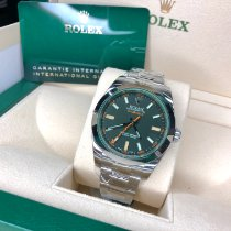 Rolex Milgauss 116400GV Mai indossato Acciaio 40mm Automatico