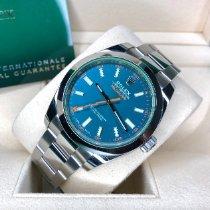 Rolex Milgauss Staal 40mm Blauw