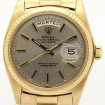 Rolex Day-Date 36 Yellow gold 36mm Grey