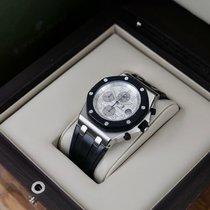 Audemars Piguet Royal Oak Offshore Chronograph Acier 42mm Blanc Arabes France, Paris