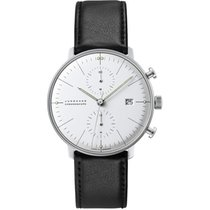 Junghans max bill Chronoscope Steel 40mm Silver No numerals United States of America, Indiana, Indianapolis