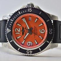 Breitling Superocean II 42 Stahl 42mm Orange Arabisch Deutschland, Iffezheim