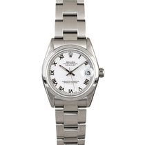 Rolex Lady-Datejust Steel 31mm White Roman numerals United States of America, New York, New York