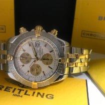 Breitling Chronomat Evolution Gold/Stahl 44mm Weiß Keine Ziffern Deutschland, Hamburg