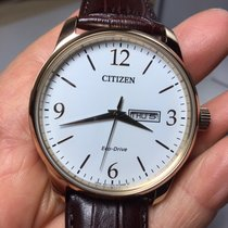 Citizen Steel Quartz BM8553-16A new