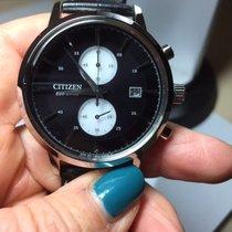 Citizen Steel 42mm Chronograph CA7061-18E new