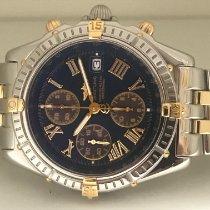 Breitling Crosswind Racing Steel 43mm Blue Roman numerals