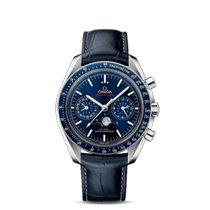 Omega Speedmaster Professional Moonwatch Moonphase Staal Blauw Geen cijfers Nederland, Franeker