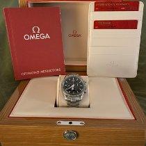 Omega Speedmaster Broad Arrow Staal 42mm Zwart Geen cijfers Nederland, Roermond