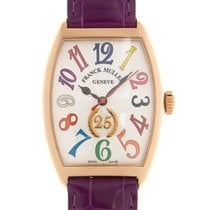 Franck Muller Red gold Automatic Silver new Color Dreams