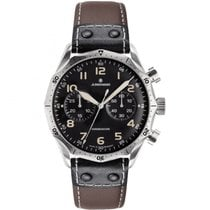 Junghans Meister Pilot Steel Black Arabic numerals United States of America, Indiana, Indianapolis