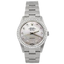 Rolex Air King Precision Steel 34mm Mother of pearl No numerals United States of America, California, Fullerton