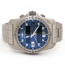 Breitling Cockpit B50 Titanium 46mm Blue