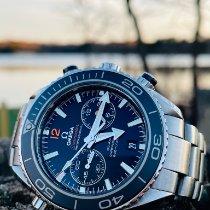 Omega 232.30.46.51.01.003 Acier 2018 Seamaster Planet Ocean Chronograph 45.5mm occasion