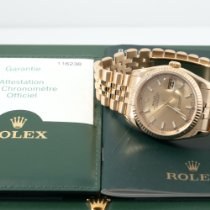 Rolex Datejust pre-owned 36mm Gold Date Yellow gold