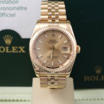 Rolex Datejust Yellow gold 36mm Gold No numerals United States of America, California, Los Angeles