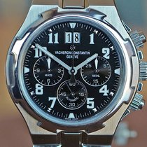 Vacheron Constantin Overseas Chronograph Steel 40mm Black United States of America, Missouri, Chesterfield
