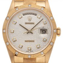Rolex Day-Date 36 18308 Very good Yellow gold 36mm Automatic
