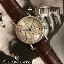 Chronoswiss Steel 34.5mm Manual winding CH-1823 pre-owned
