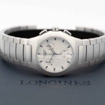 Longines Oposition Steel 32mm Silver No numerals