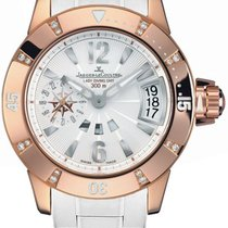 Jaeger-LeCoultre Master Compressor Diving GMT Rose gold 38mm Silver United States of America, California, Moorpark