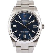 Rolex Oyster Perpetual Steel 41mm Blue No numerals UAE, Dubai