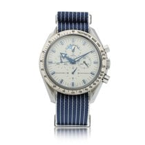 Omega Speedmaster Professional Moonwatch Moonphase Steel 42mm White United States of America, New York, New York