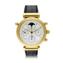 IWC Da Vinci Perpetual Calendar Yellow gold 39mm Silver United States of America, New York, New York
