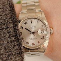Rolex Datejust Stahl 36mm Silber Römisch Deutschland, Spaichingen
