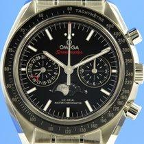 Omega Speedmaster Professional Moonwatch Moonphase Acero 44.2mm Negro