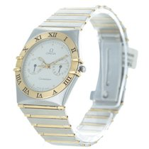 Omega Constellation Day-Date Goud/Staal 33mm Champagne Romeins Nederland, BOSKOOP